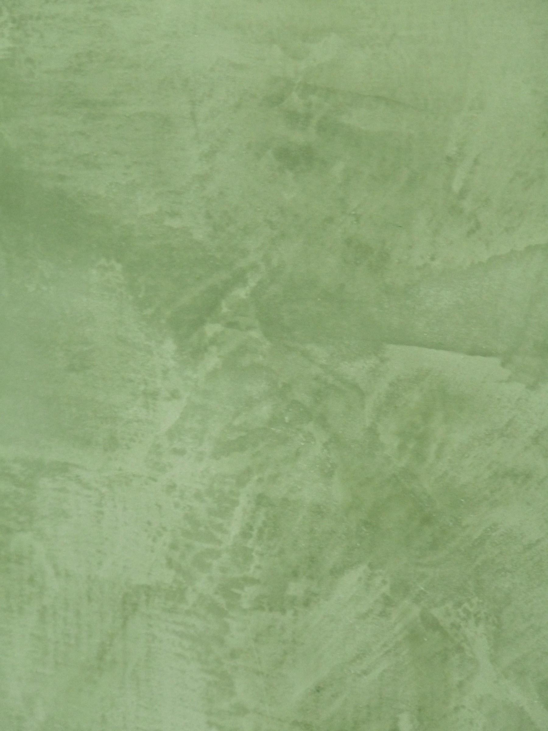 grüner Stucco Feinputz